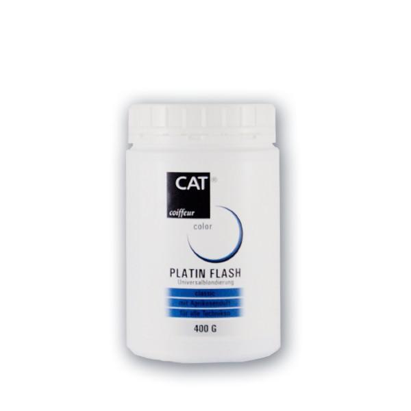 CAT Platin Flash Blondierung Aprikose 400 g