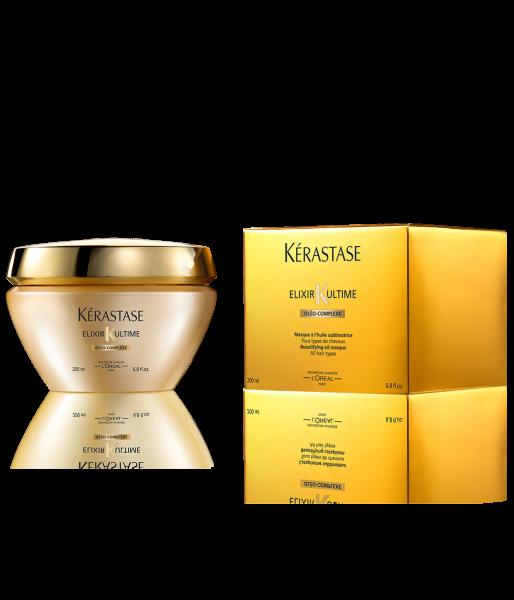 KÉRASTASE Elixir Ultime Masque, pflegende Öl-Maske 200ml