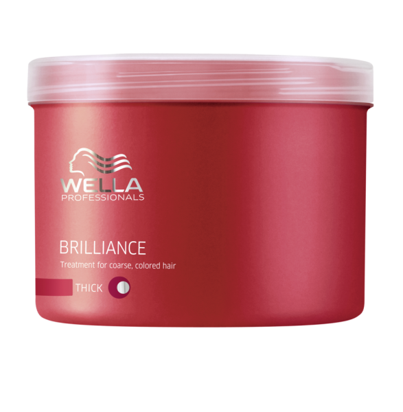 Wella Professionals Care Brilliance Maske kräftig