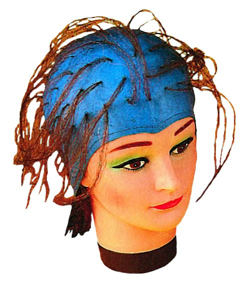 Efalock Strähnenhaube blau