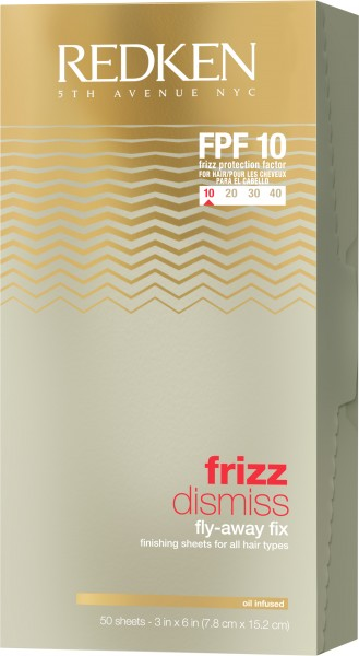 REDKEN Frizz Dismiss Fly Away Fix Sheets 50 ml