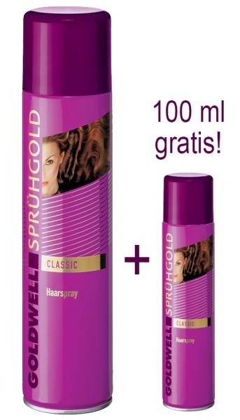 Goldwell Sprühgold Haarspray 600 ml + GRATIS Reisegröße 100ml
