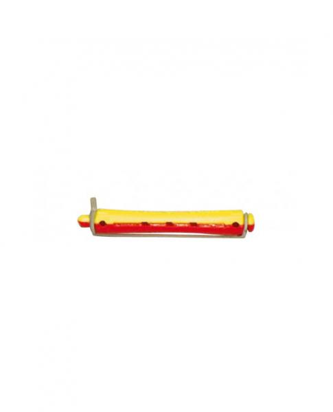 Efalock Permstyler kurz gelb-rot 9 mm